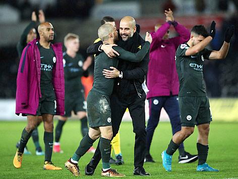 Jubel von Manchester City