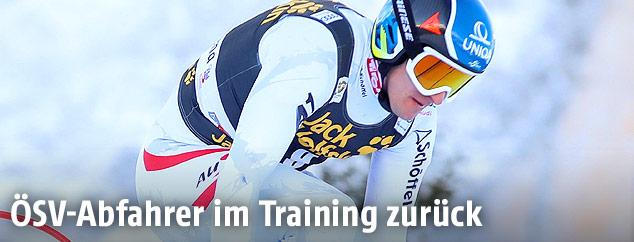 Matthias Mayer im Gröden-Training