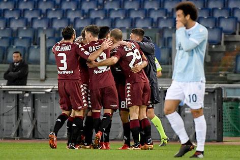 Jubel von Torino-Spielern