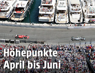 Formel-1-Strecke in Monte Carlo