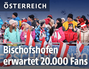 Fans in Bischofshofen