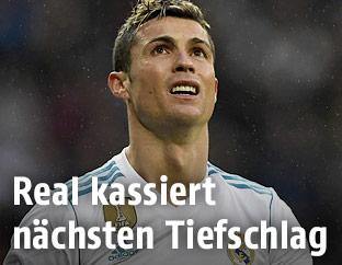 Enttäuschter Cristiano Ronaldo (Real Madrid)