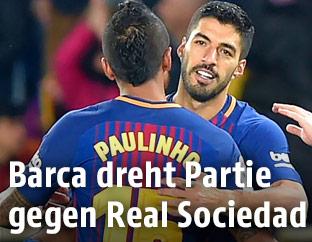 Spielszene FC Barcelona - Real Sociedad