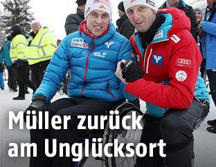 Lukas Müller und Heinz Kuttin