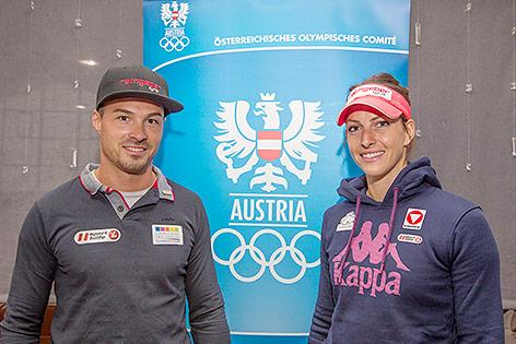 Matthias Guggenberger und Janine Flock