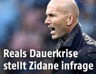 Real-Trainer Zinedine Zidane