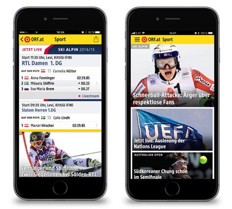 Sport Nachrichten App