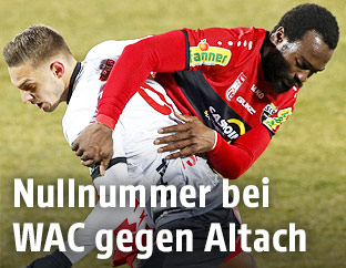 Spielszene WAC - Altach