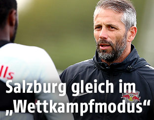 Trainer Marco Rose (RBS)