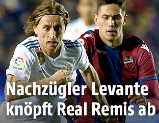 Spielszene Levante - Real Madrid