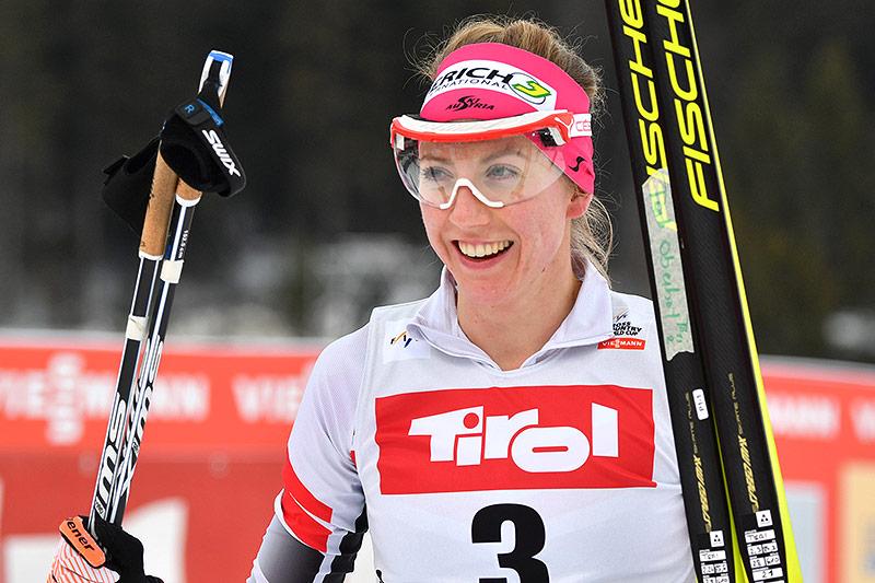 Langläuferin Teresa Stadlober