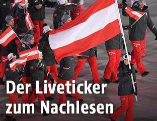 Österreichs Teilnehmer