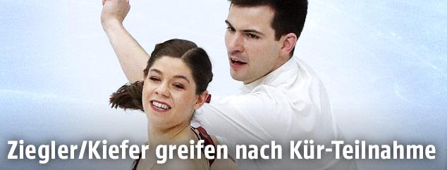 Eiskunstläufer Miriam Ziegler und Severin Kiefer