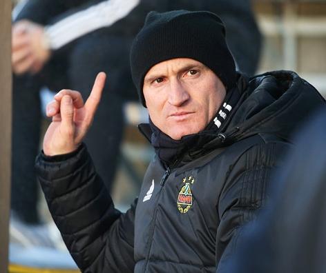 Trainer Goran Djuricin