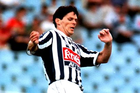 Archivbild von Didi Kühbauer aus dem Jahr 1998, damals bei Real Sociedad