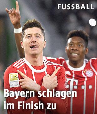 Robert Lewandowski und David Alaba (FC Bayern)