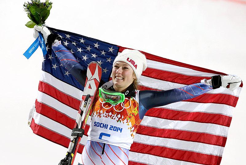 Shiffrin gewinnt Gold im Riesentorlauf