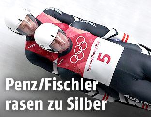 Peter Penz und Georg Fischler