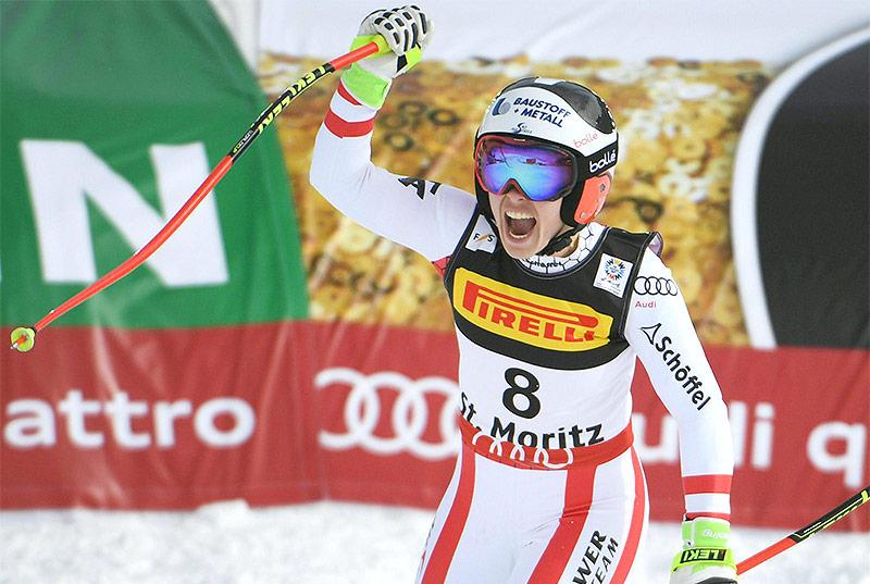 Snowboarderin Ledecka holt Gold im Super-G