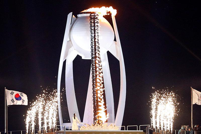 Das Olympische Feuer