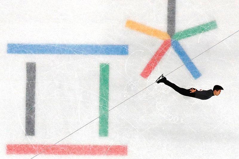 Eiskunstläufer Nathan Chen (USA)