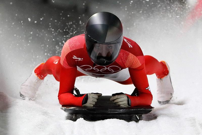 Skeleton-Athletin Janine Flock