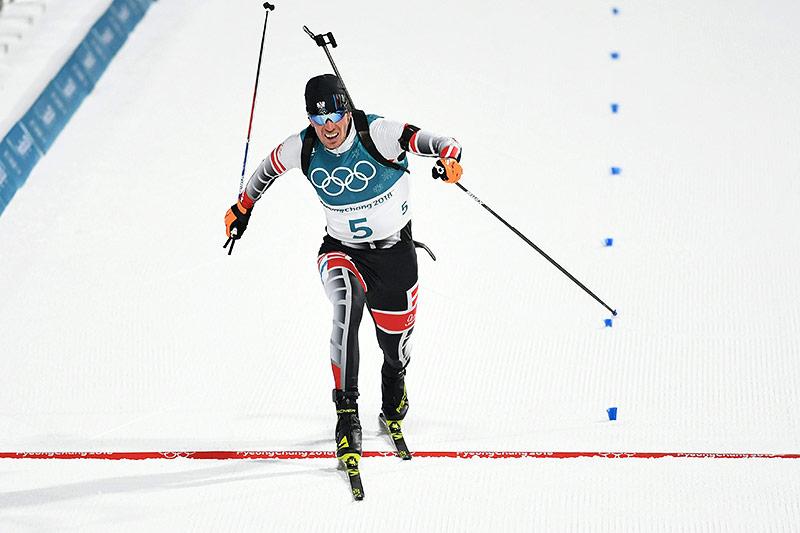 Biathlet Julian Eberhard