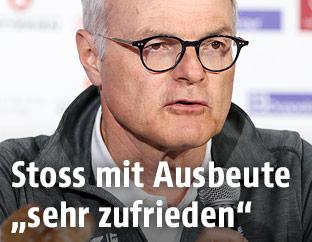 Karl Stoss, der Präsident des österreichischen Olympischen Comites