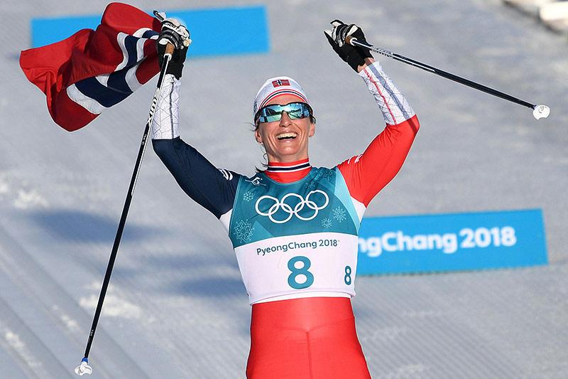Langläuferin Marit Björgen (NOR)