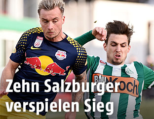 Fredrik Gulbrandsen (Salzburg) und Thorsten Mahrer (Mattersburg)