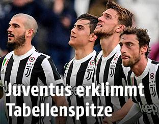 Juventus-Spieler jubeln