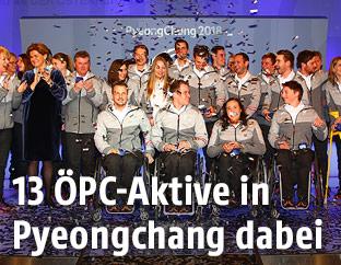 Das Paralympics-Team
