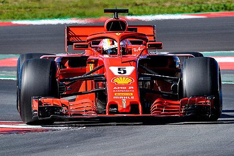 Formel-1-Auto von Ferrari