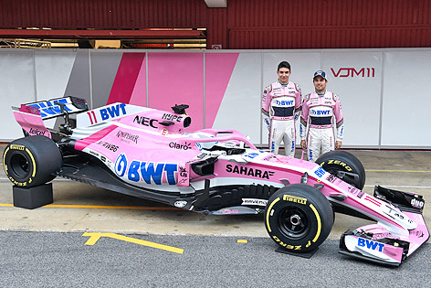 Formel-1-Team von Force India