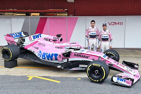 Formel-1-Team von Force India