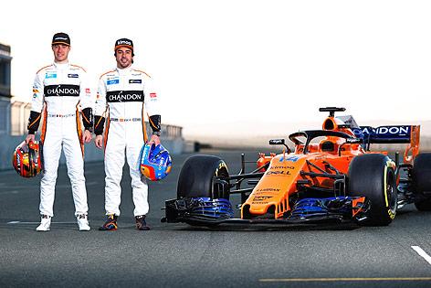 Formel-1-Team von McLaren