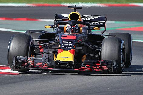 Formel-1-Auto von Red Bull Racing