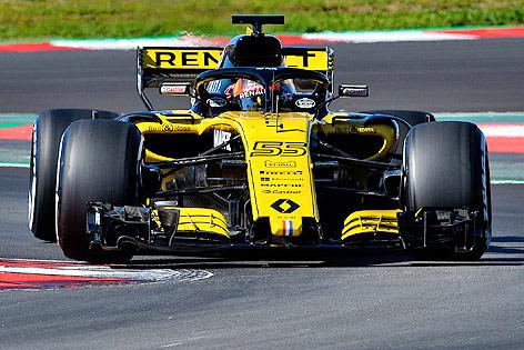 Formel-1-Auto von Renault