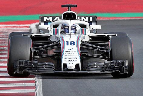 Formel-1-Auto von Williams