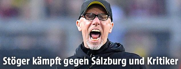 Dortmund-Trainer Peter Stöger