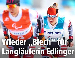 Langläuferin Carina Edlinger