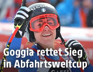 Jubel von Sofia Goggia