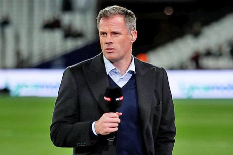 TV-Kommentator und Ex-Spieler Jamie Carragher
