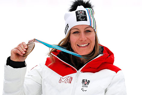 Heike Eder mit Bronze-Medaille
