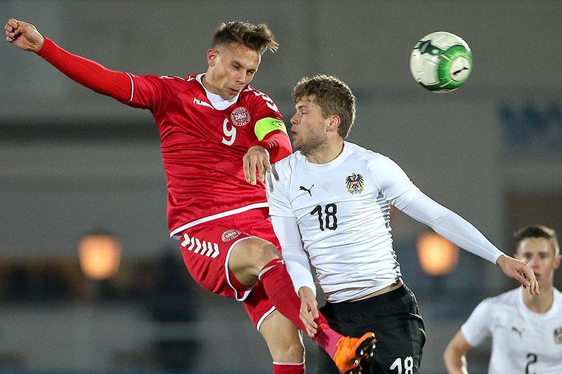Marcus Ingvartsen (DEN) und Dominik Baumgartner (AUT)