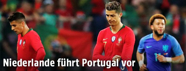 Enttäuschung bei Ronaldo