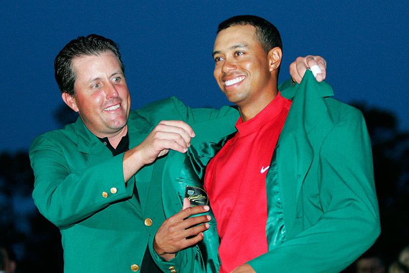 Phil Mickelson und Tiger Woods