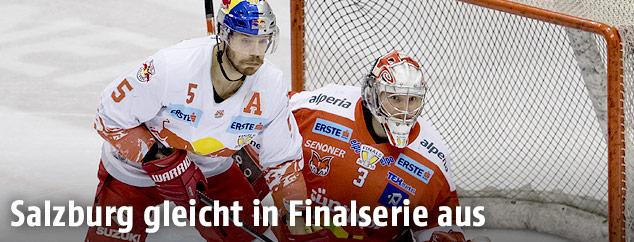 Thomas Raffl (Salzburg) und Pekka Tuokkola (Bozen)