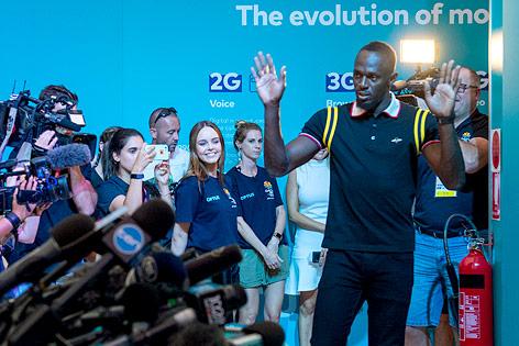 Usain Bolt bei den Commonwealth Games