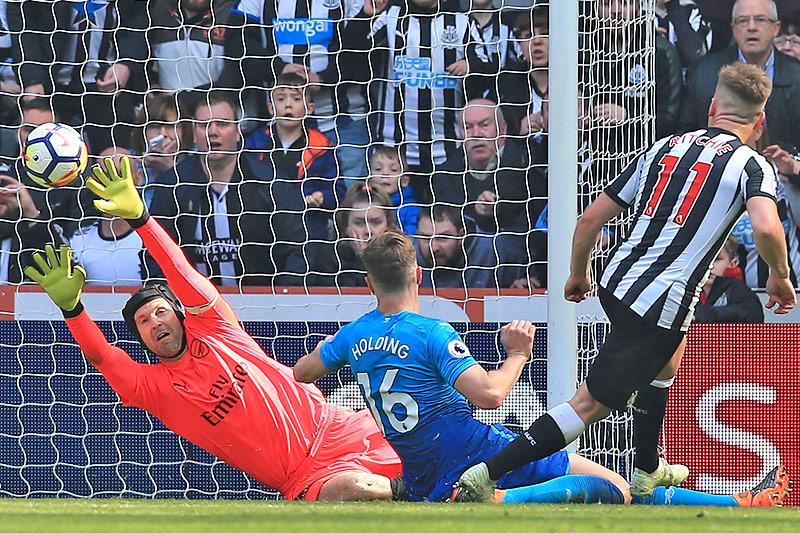 Tor von Matt Ritchie (Newcastle United) gegen Arsenal